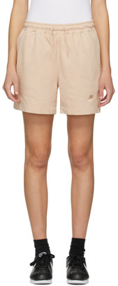 Nike Pink Jersey Sportswear Shorts