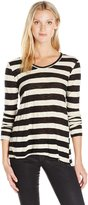 Wilt Women's Striped L/s Shrunken Bf Shirt