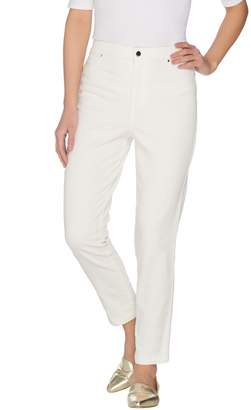Joan Rivers Classics Collection Joan Rivers Petite Joan's Classic Ankle Length Jeans