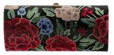 Judith Leiber Rosas Embellished Cylinder Clutch w/ Tags