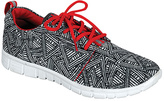 Refresh Gray & Red Jump Sneaker