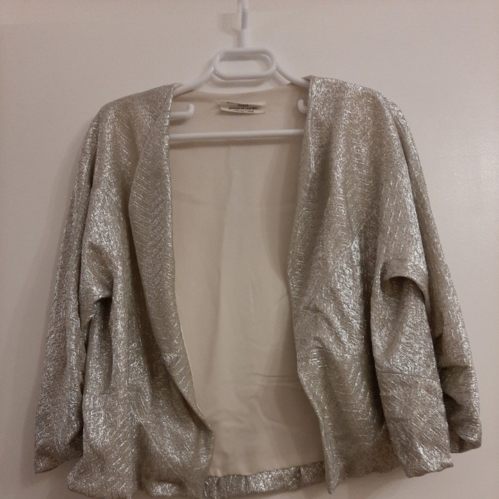 David Szeto Metallic Jacket for Women