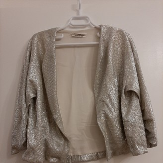 David Szeto Metallic Jacket for Women