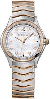 Ebel Wave Ladies' Two Colour Bracelet Watch