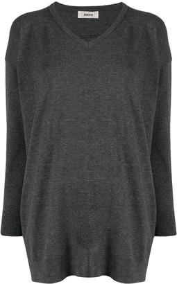 Zucca slouchy V-neck jumper