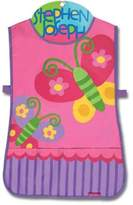 Stephen Joseph Butterfly Craft Apron in Pink