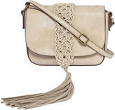 Asstd National Brand Macrame Crossbody Bag