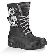 UGG Butte II Backcountry Boys' Camo Cold Weather Waterproof Boots