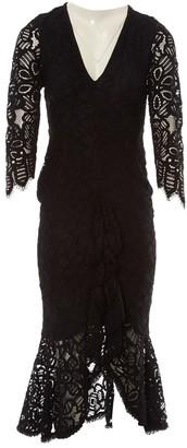 Alexis \N Black Lace Dress for Women