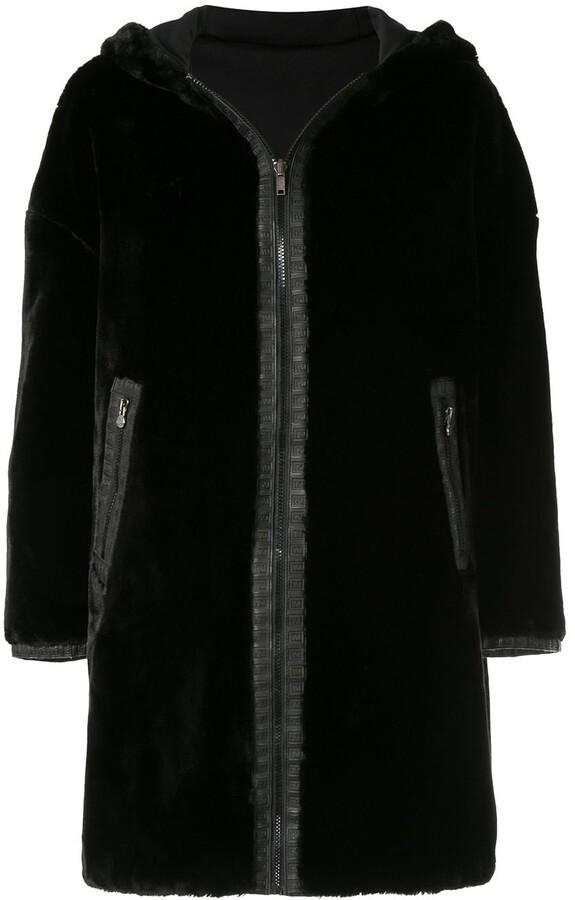 819eb1be Pre-Owned Reversible Long Sleeve Fur Coat