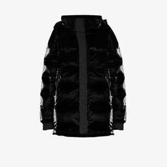 TEMPLA Gloss puffer jacket