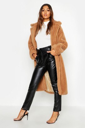 boohoo Oversized Teddy Faux Fur Coat