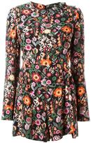 RED Valentino floral print playsuit - women - Polyester/Acetate/Viscose - 42