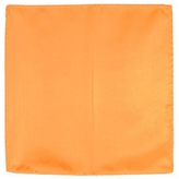 Forzieri Orange Silk Pocket Square