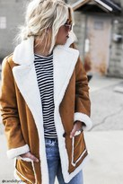 Forever 21 FOREVER 21+ Faux Suede Coat