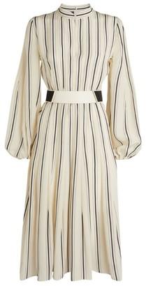 Akris Silk Striped Dress