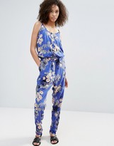 Vero Moda Printed Jumpsuit With Elasticated Waist