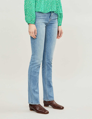 Reformation Audrey straight high-rise jeans