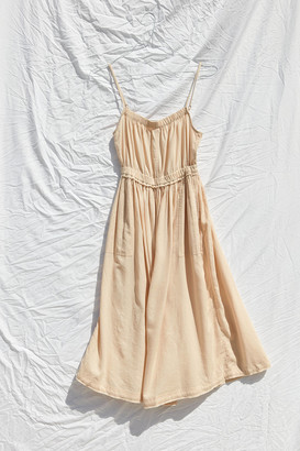Urban Outfitters Aria Linen Midi Dress