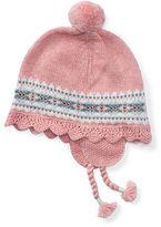 Ralph Lauren Girl Fair Isle Earflap Hat