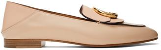 Chloé Pink Shiny Loafers