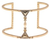 House Of Harlow Crystal Detail Open Bangle