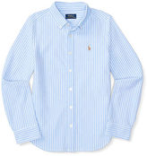 Ralph Lauren Striped Knit Oxford Shirt