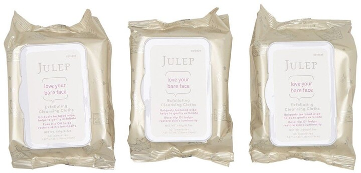 Thumbnail for your product : Julep Love Your Bare Face Makeup Remover Wipes with Rose Hip Oil - Pack of 3
