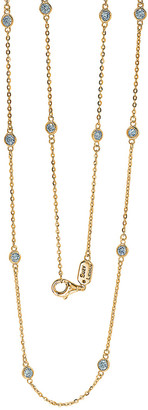 Suzy Levian Diamonds Suzy Levian 14K 1.00 Ct. Tw. Diamond Station Necklace