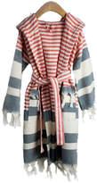 Child's Turkish Cotton Hooded Robe