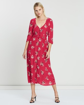 Steele Madrid Midi Dress