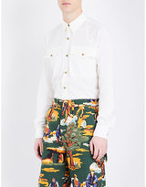 Stella Mccartney Regular-fit Western Pocket Cotton Shirt