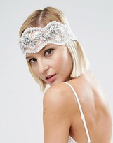 Asos WEDDING Vintage Jewel Mesh Headband