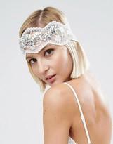 Asos WEDDING Vintage Jewel Mesh Headband