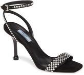 Prada Embellished Halo Strap Sandal