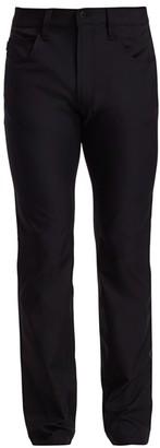 Emporio Armani Solid Trousers