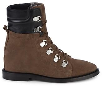 Aquatalia Clarisa Suede Leather Outdoor Boots