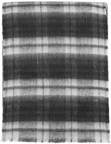 Topshop Brushed Check Scarf