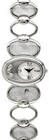 Alviero Martini Prima Classe Women's PCD 876/FM Stainless Steel Oval Silver Geo-Design Watch