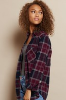 Garage Boyfriend Plaid Flannel Shirt