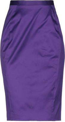 Just Cavalli Knee length skirts