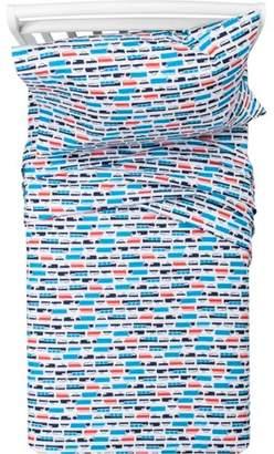 Pillowfort Transportation Cotton Sheet Set - Pillowfort