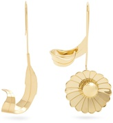 J.W.Anderson Daisy and leaf earrings