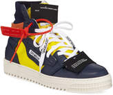 Off-White Off White Men's 3.0 Exclusive Leather High-Top Sneakers