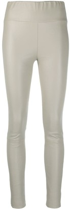 Sprwmn High-Rise Skinny Ankle Crop Trousers