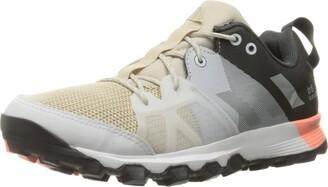 adidas Women's Kanadia 8 Trail Running Shoes Core Brown/Metallic Silver/Sun Glow 5 M US