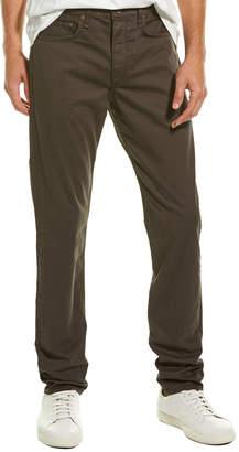 Rag & Bone Solid Stretch Woven Grey Slim Fit Pant