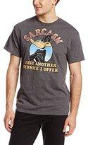 Looney Tunes Men's Sarcasm T-Shirt