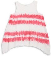 Splendid Girls 7-16 Little Girls Tie-Dye Asymmetric Tank