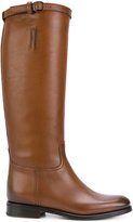 Church's calf length boots - women - Calf Leather/Leather/rubber - 36